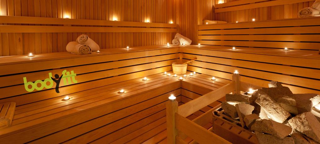 Sauna im Bodyfit